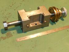 Watchmakers Lathe Small Colett Headstock Poss Boley Draw Bar Engineering