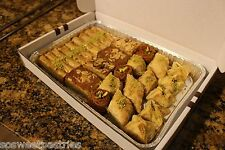 3 LB OF ASSORTED SMALL BAKLAVA TRAY OF WALNUT, ALMOND AND PISTACHIOS