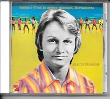 CD COMPIL 12 TITRES--CLAUDE FRANCOIS--BERNADETTE / C'EST LA MEME CHANSON