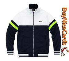 Drake's October's Very Own OVO Navy Colourblock Track Jacket Sz Large - Sold Out