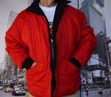 VINTAGE Polo JEANS Ralph Lauren Quilted Jacket RED polar  MENS SIZE L