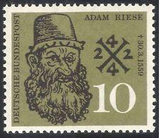 Germany 1959 Adam Riese/Mathematician/Mathematics/Algebra/People 1v (n43089)
