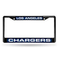 Los Angeles Chargers NFL Black Metal Laser Cut License Plate Frame