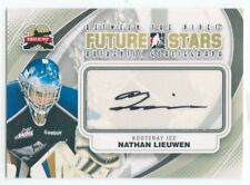 11/12 BETWEEN THE PIPES GOALIEGRAPH AUTOGRAPH AUTO NATHAN LIEUWEN ICE *49816