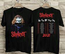 HOT!!Slipknot We Are Not Your Kind Tour 2021 T-shirt Black Shirt USA Sizes