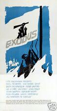 Exodus Paul Newman vintage movie poster print