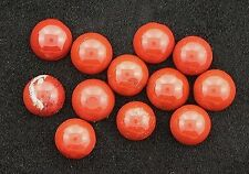 12- 5mm Round Red Jasper Cabochon Gem Stone Gemstone