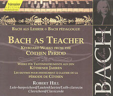 "BACH AS TEACHER: KEYBOARD WORKS FROM THE C""THEN PERIOD USED - VERY GOOD CD"