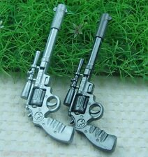 2PCS Novelty Gun Pen blue Ink School Office Stationery Kid F16B