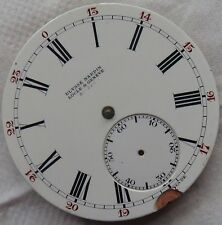 ULysse Nardin Chronometre Pocket Watch movement & enamel dial stem to 12