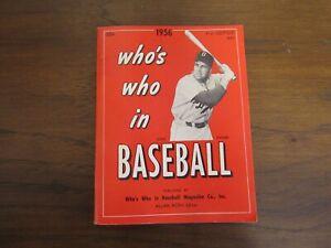 Who's Who In Baseball 1956 Duke Snider