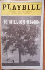 Matthew Morrison Playbill 10 Million Miles Mare Winningham Light Crease on Cover