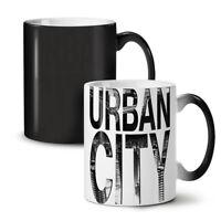 Urban City Life NEW Colour Changing Tea Coffee Mug 11 oz | Wellcoda