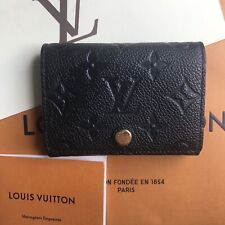 🌸100%Authentic Louis Vuitton 2020 Business Card Holder Purse Wallet & Receipt