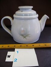 DENBY   Whisper Pattern   Larger Tea/Coffee Pot   with LID  in Stoneware