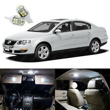 10 x Xenon White LED Interior Light Kit Deal For Volkswagen Passat 2006 - 2010