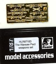 Hauler Models 1/87 WARSAW PACT WEAPONS SET Photo Etch Set