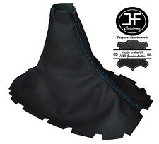 Blue stitch pour ford mustang 2005-2010 manuel cuir shift boot gear gaiter