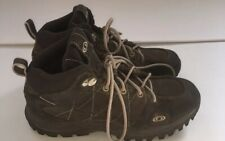 Men's Salomon Brown Waterproof Hiking / Trail Boots 871692 Size 7 EUC