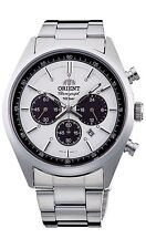 Orient WV0041TX Milky White NEO 1970 Quartz Solar Men's Free Shipping Tracking