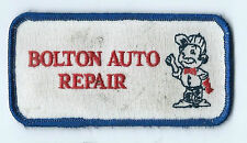 Bolton Auto Repair Barling, AR driver/employee patch 2 X 3-7/8                #7