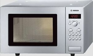 Bosch Microwave Stainless Steel 800 Watt Detached 574.8oz Automatic Retractable