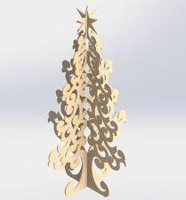 Aspire ArtCAM VCarve Vektoren DXF Dateien Weihnachtsbaum für CNC Router und Laser