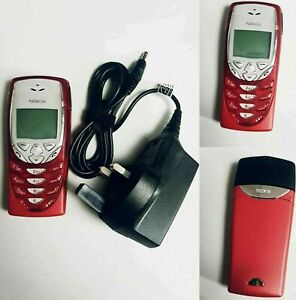 Nokia 8310 New Condition - Red (Unlocked) Mobile Phone with seller warranty
