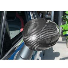 Carbon Fiber Rear Mirror Cover Trim Fit For Mini Cooper R55 R56 Manual Folding