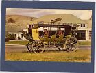 MINT VINTAGE YELLOWSTONE NAT PK-STAGECOACH-OLD MAMMOUTH HOTEL-CLOSEUP IMAGE