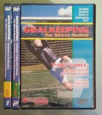 GOALKEEPING THE DICICCO METHOD  part one two three 1 2 3   DVD LOT