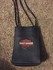 Genuine Harley Davidson Ladies Black Leather Purse