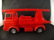 SITAP F BERLIET GAK Grande échelle de pompier de 25 cm ancien en plastique RARE