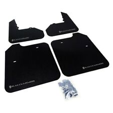 Rally Armor Mitsubishi EVO 8/9/MR Classic Black Mud Flap w/ Grey Logo