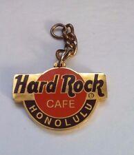 Hard Rock Cafe Honolulu Classic HRC Logo Keychain Key Chain Emblem, no Ring