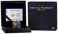 2017 Canada $25 1oz Piedfort Enameled Proof Silver 35th Trivial Pursuit SKU44824