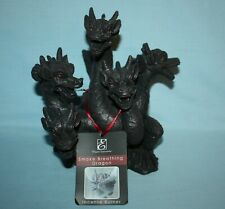 New Elegant Expressions 5-Headed Smoking Dragon Incense Burner & 40 Cones