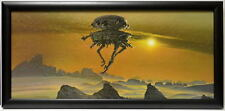 Star Wars Empire ESB IMPERIAL PROBE DROID FRAMED CONCEPT PRINT Chiang 1980