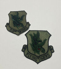 United States 23rd Wing FLYING TIGERS Lot Of 2 Patches