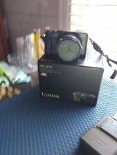 Panasonic LUMIX DMC-LX100 12.8MP Digital Camera - Black WITH BOX and ACCESSORIES