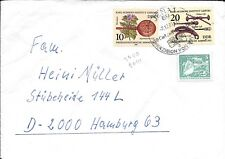 CLB115) Nice W. Germany 1981 Cover  Medical History Collection, Pelican