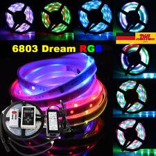 Leiste Strip Streifen Band+ RF Fernbedienung+ Netzteil 5050 6803 IC 150 LED RGB