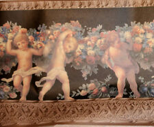 Wallpaper Border Imperial Vc3003B Victorian Architectural Molding Angels Cherubs