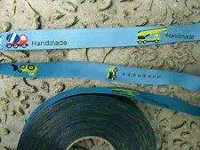 Webband Label Handmade Handmadelabel Nähen Webetikett 15 mm Blaubeerstern