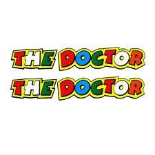 V Rossi `el Doctor `pegatina Motocicleta calcomanías gráficos X 2