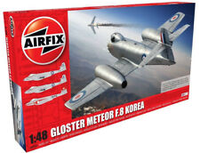 Airfix Gloster Meteor F8 - Korean War 1:48 Scale Plastic Model Plane A09184