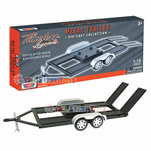 Trailer Car Carrier Motormax 1:24 1:18 Scale Diecast Model Toy Car 76001 76009
