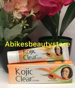Kojic Clear Cream with Papaya X1 Result In 7days