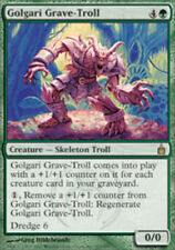 Ravnica Golgari Grave-Troll - Foil x1 Moderate Play, English Magic Mtg M:tG