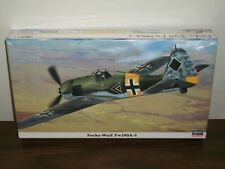 Hasegawa 1/48 Scale Focke-Wulf Fw 190A-5 - Factory Sealed